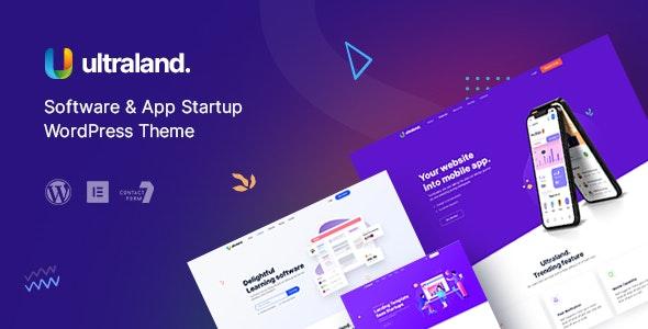 Ultraland – Software & App Startup WordPress Theme